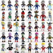 40 стилей, 30 см, Растения против Зомби, плюшевая игрушка, ПВЗ, плюшевая игрушка, кукла, война, разные цвета, мягкие игрушки, Рождество для детей, подарки для детей