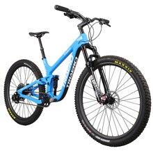ICAN Popolare 27.5er più MTB bike full suspension 150 millimetri di viaggio enduro boost di montagna della bicicletta 110*15/148*12mm axle