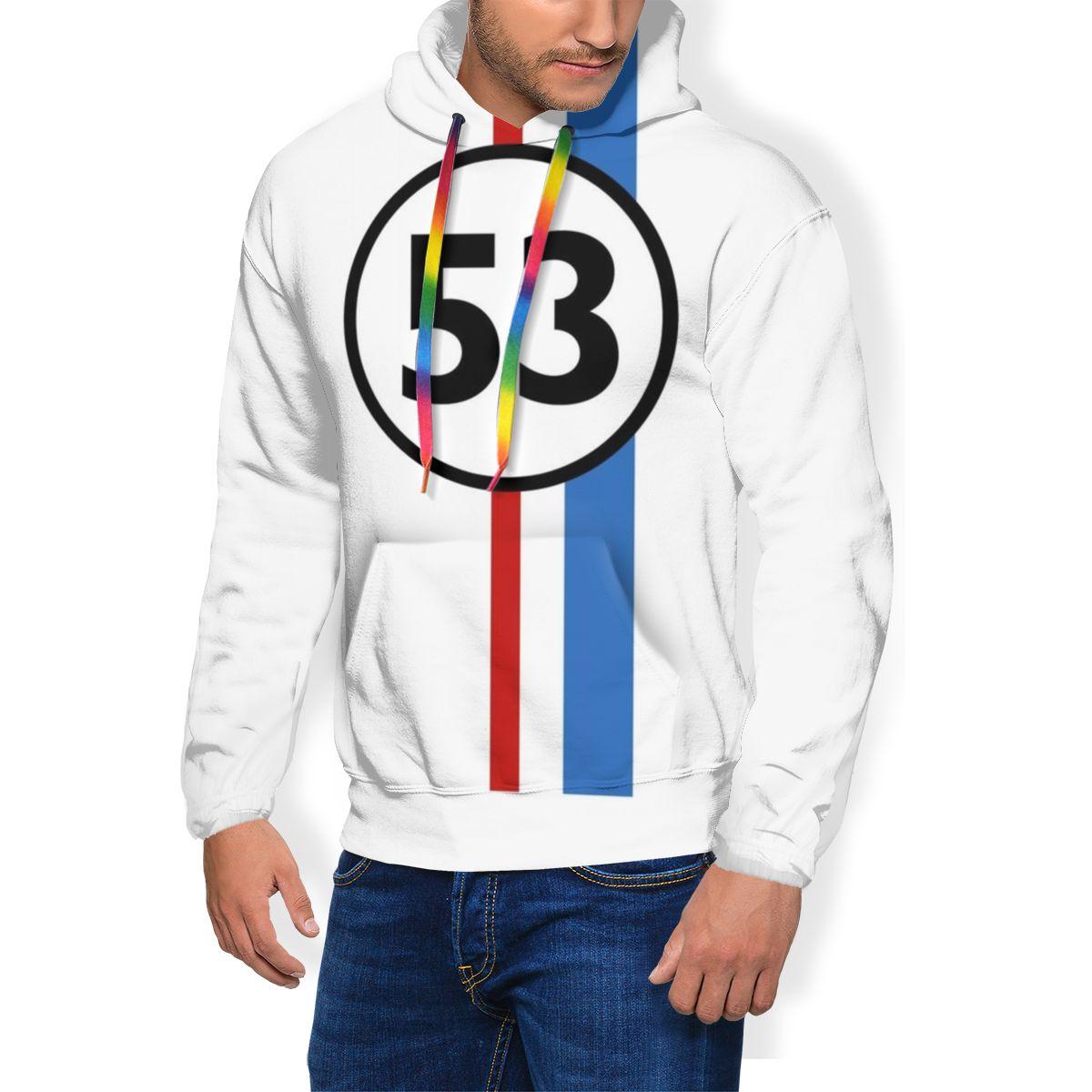 Herbie Hoodie Herbie Hoodies Loose Long Pullover Hoodie Male Oversize Polyester White Warm Fashion Hoodies