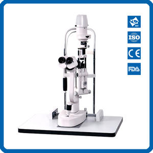 Microscope Ophthalmology Optometry Slit And with Led-Illumination LS-4 Five-Magnifications