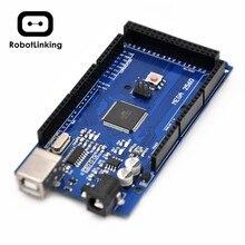 Плата Mega 2560 R3 Mega2560 REV3 (ATmega2560-16AU CH340G), совместимая с Arduino Mega Parts