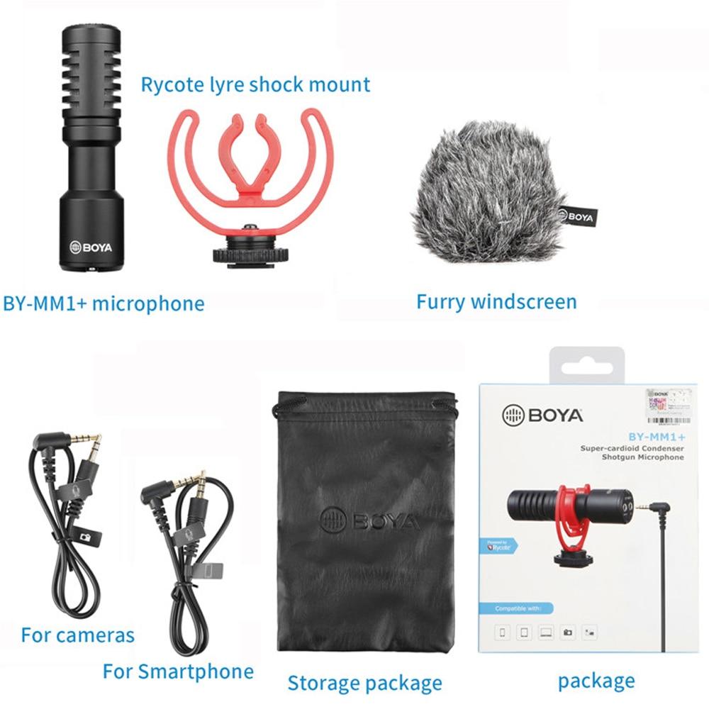 Boya BY-MM1+ Plus Shotgun Microphone 12