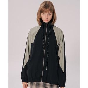 Image 5 - Erkekler Hip Hop rüzgarlık ceket Retro renk blok Patchwork Harajuku Streetwear ceket palto fermuar parça ceketler sonbahar 2019 yeni