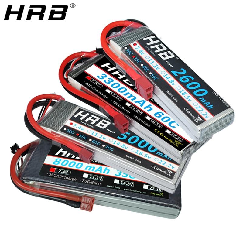 HRB 2S 7.4V 16000mAh 25C Lipo