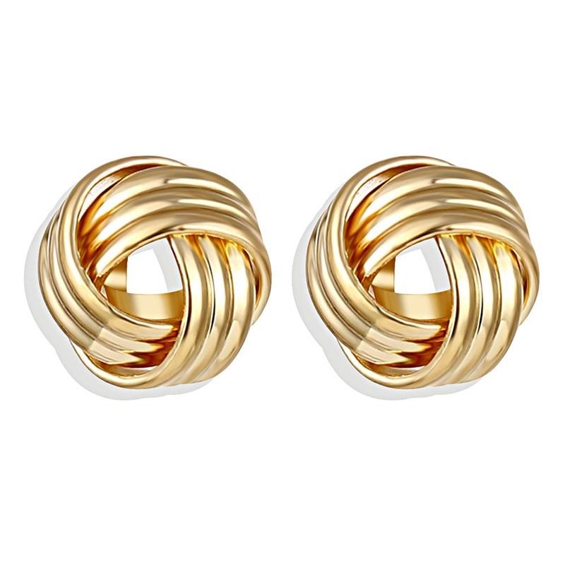 IPARAM, новинка, большие круглые серьги-кольца для женщин, модные, массивные, золотой, в стиле панк, очаровательные серьги, вечерние ювелирные изделия - Окраска металла: IPA0101-9