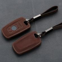 Кожаный ТПУ ключа автомобиля чехол для BMW 3 5 6 X1 M1 GT F20 F10 F30 520 525 520I 530D E34 E46 для цепочек для ключей, сумок, чехол дистанционного брелока