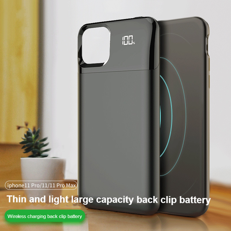 Battery Charger Case For IPhone 11 11Pro 11ProMAX Battery Case Power Bank Charging Cases Charger Ultra Slim External Back Pack