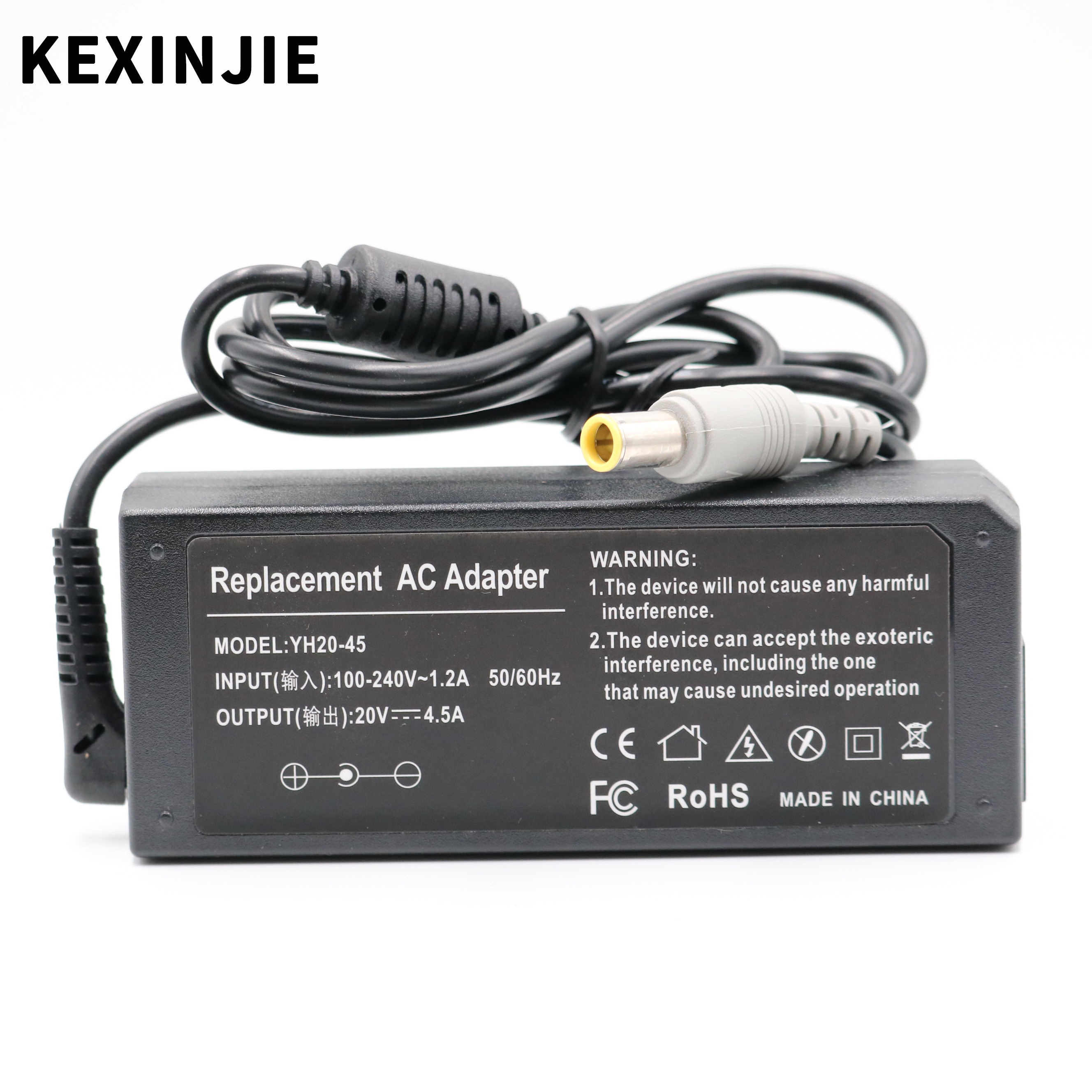 20V 4.5A 90W Replacement AC Adapter Charger For Lenovo Thinkpad E420 E430 T61 T60p Z60T T60 T420 T430 F25 Notebook Power Supply
