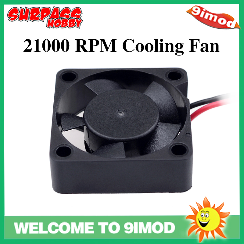 SURPASS HOBBY 21000 RPM Cooling <font><b>Fan</b></font> <font><b>Motor</b></font> Quick Heat Dissipation for <font><b>540</b></font> Brushless <font><b>Motor</b></font> RC Car Accessory Spare Parts image