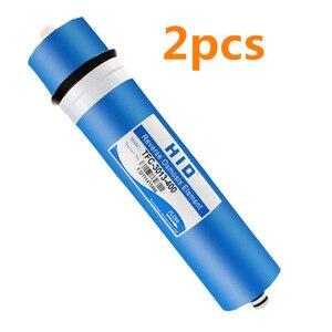 2pcs 400 gpd membranas de osmose reversa HID TFC-3013-400G Membrana de filtro Cartuchos de Filtros de Água ro sistema de Filtro de Membrana