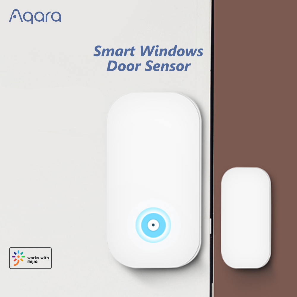 Original Aqara Smart Door Sensor With ZigBee Wireless Connection Remote Control Home Security Support Android IOS