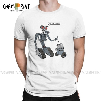 Leisure Related Circuits T-Shirts Men T Shirts Short Circuit Johnny 5 80s Retro Robot Movies Short Sleeve Tees Graphic Clothing