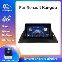 Prelingcar dla Renault kangoo monitor samochodowy Radio multimedialny odtwarzacz wideo nawigacja Android stereo