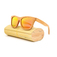 New 100% Real Zebra Wood Sunglasses Polarized Handmade Bamboo Mens Sunglass Sun glasses Men Gafas Oculos De Sol Mader