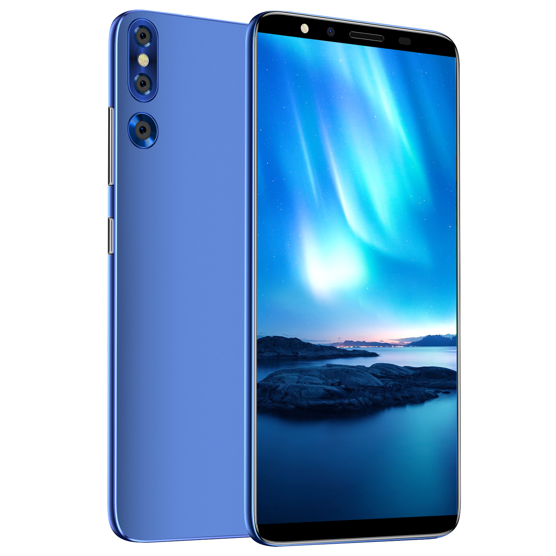 Original cectdigi p20 plus android os 4.4 512 mb ram + 4 gb rom telefone inteligente duplo núcleo 854*480 5.72 Polegada multilíngue telefone moblie