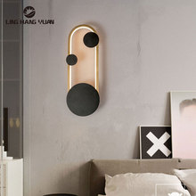 Modern Led Wall Light Remote control Dimmer Sconce Wall Lamp for Living room Bedroom Dining room Bedside Light Wall Led Luminare