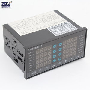 Image 3 - דיגיטלי תרמוסטט 8 דרכים SSR פלט טמפרטורת בקר עם 8 דרכים DC מתח פלט התראה עם RS485 תקשורת
