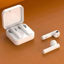 Zestaw słuchawkowy Stereo True bezprzewodowy TWS bezpośrednie ładowanie neutralne słuchawki sportowe sport biały zestaw słuchawkowy Bluetooth tanie tanio douszne Technologia hybrydowa CN (pochodzenie) wireless Wygięcie w kształcie litery L Etui ładujące