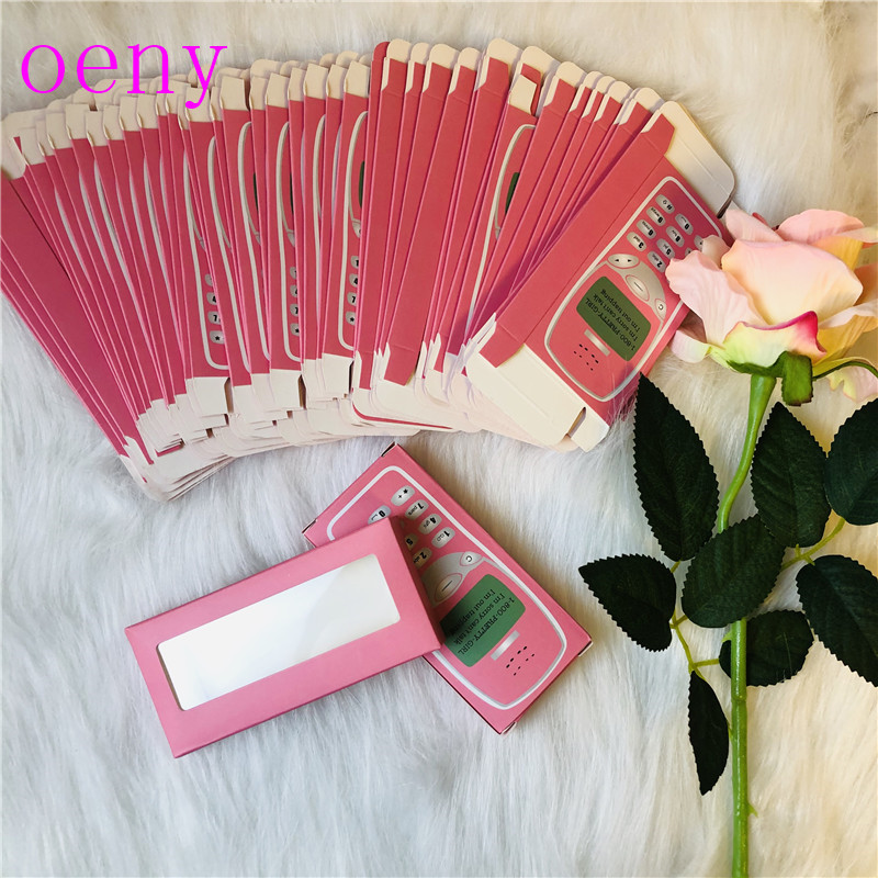 NEW 25mm 3D Mink Lashes Rectangle Cardboard Box False Eyelashes Packaging Box Without Logo Cosmetic Empty Eyelash Packaging Box