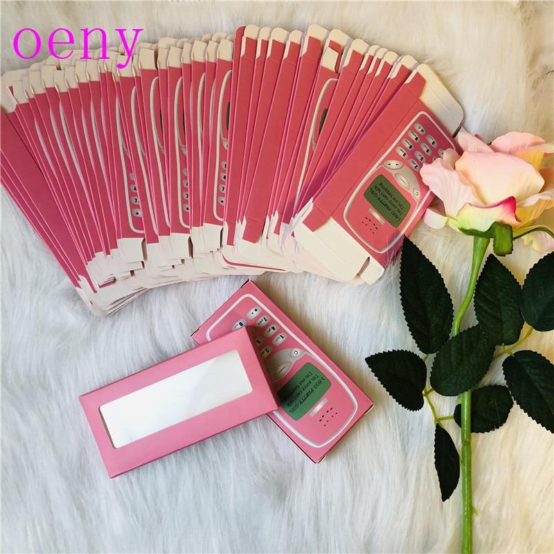 NEW 25mm 3D Mink Lashes Rectangle Cardboard Box False Eyelashes Packaging Box Without Logo Cosmetic Empty Eyelash Packaging Box