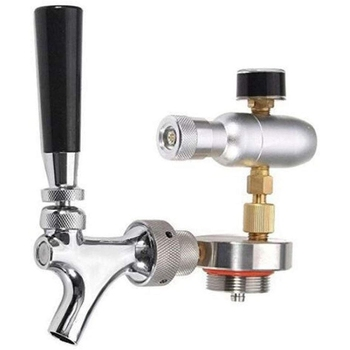 Beer Dispenser Manual Brewing Craft Home Soft Drink Party Stainless Steel Tool Kitchen Faucet Pressurized Bar Accessories Growle