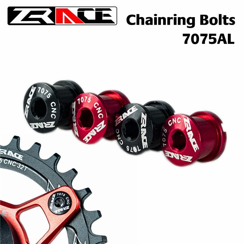 5x Bicycle Chainwheel Screws Chainring Wheel Bolt Bike Disc Screw Luminium Alloy