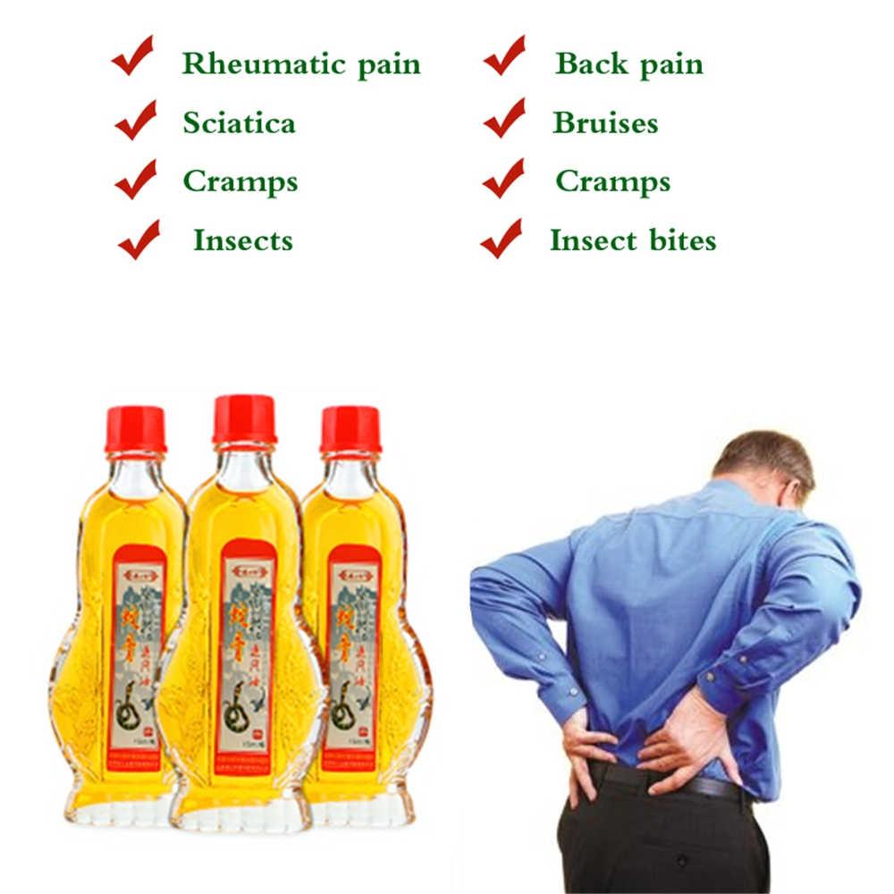 15ml Massage au venin de serpent huiles essentielles sciatique arthrite articulaire douleur rhumatismale Patch à base de plantes baume du tigre crème plâtre médical