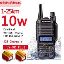 10W 4800Mah Batterij Lange Belde Walkie Talkie Baofeng UV 9R Plus Cb Radio Comunicador Waterdichte Walkie Talkie Uv 9r Plus рация