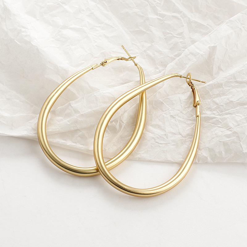AENSOA 2020 New Gold Color Earrings For Women Multiple Trendy Round Geometric Drop Statement Earrings Fashion Party Jewelry Gift
