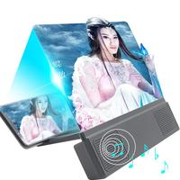 12inch Phone Screen Magnifier Smartphone Movie Amplifier Video Enlarger Magnifying Glass 3D Visual Enjoyment with Foldable Stand 1