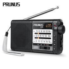 PRUNUS J 01 Radio portátil Retro radio FM AM SW, receptor de Radio, tarjeta TF, reproducción de música, radios recargables USB, batería de 2200mAh