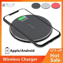 Fast Wireless Charger Pad for Iphone Qi Wireless Charging Stand for Android Phone Car Wireless Charger Auto