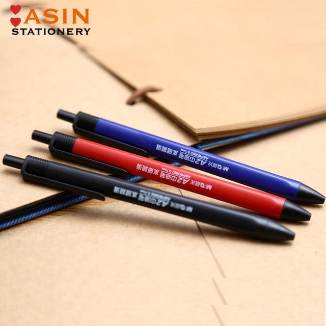 M&G 40pcs Semi Gel Writing Ball Point Pen 0.7mm Black/Blue/Red Economic Ball Pen for School and Office Gift Supply  Ballpoint 2