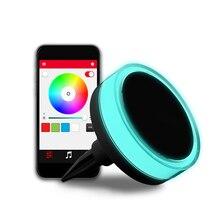 New Outdoor Lawn Buried Floor Light Bluetooth Intelligent LED Solar Power Garden Path Ground Lamp