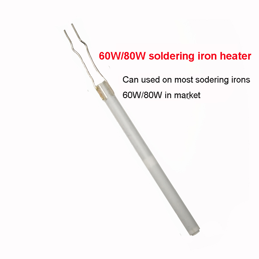 60W/80W Soldering Iron Heater Heating Element  220V 110v Ceramic  Internal Heating Element For  936 908 Welding Irons