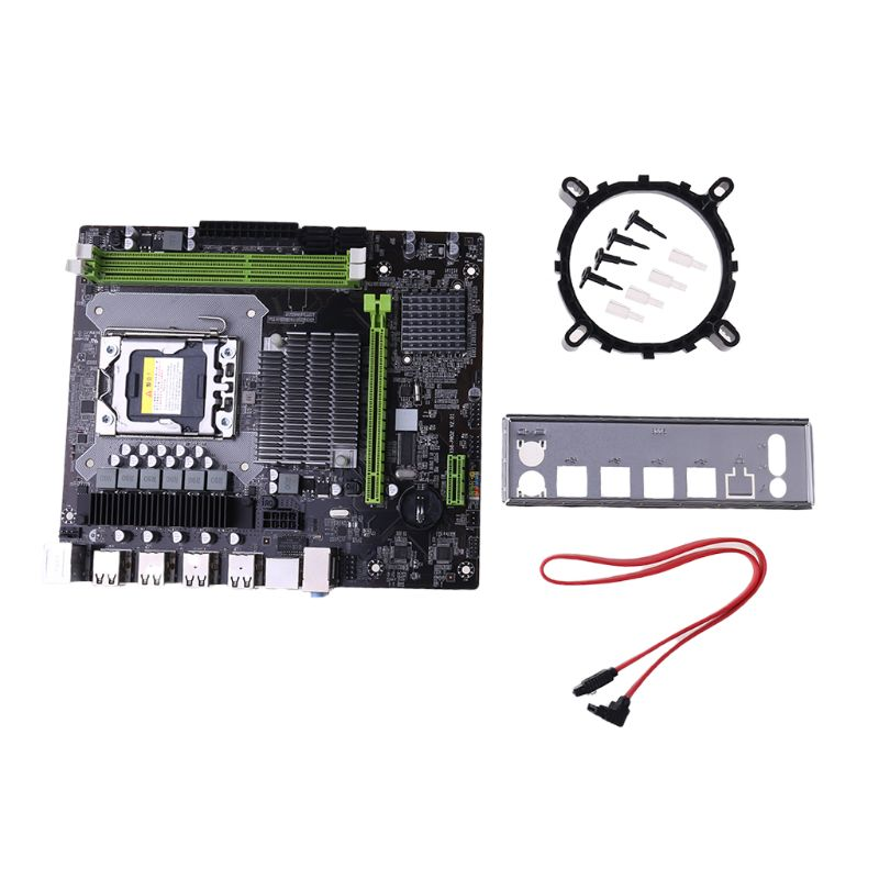 X58 LGA 1366 Motherboard Support REG ECC Server Memory and Xeon Processor Motherboard title=