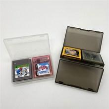 Gioco scatola di raccolta scatola di immagazzinaggio scatola di protezione scatola di carta del gioco per Gameboy COLOR Gameboy tasca GB GBC DMG GB giochi
