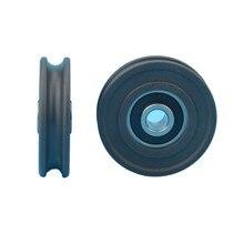 1 шт. 8x45x11,5 мм низкий уровень шума с высокой загрузкой 628RS U паз раздвижной дверной ролик колесико delrin POM нестандартный подшипник u Тип шкив