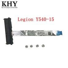 الأصلي HDD SSD كابل مع برغي لينوفو الفيلق Y540 Y545 Y540 15 Y540 17 HDD كابل كمبيوتر محمول NBX0001PG0 NBX0001M40