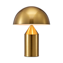 Nordic Simple Table Lamp Mushroom Metal Modern Classic Table Light for Living Room Desk Lighting Decoration Light(China)