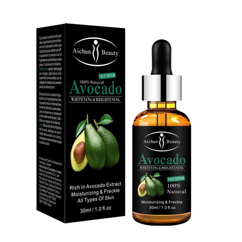 Avocado Red Pomegranate Facial Serum Face Cream Fruit Cream Whitening Moisturizing Remove Dark Spots Serum Vitamin E
