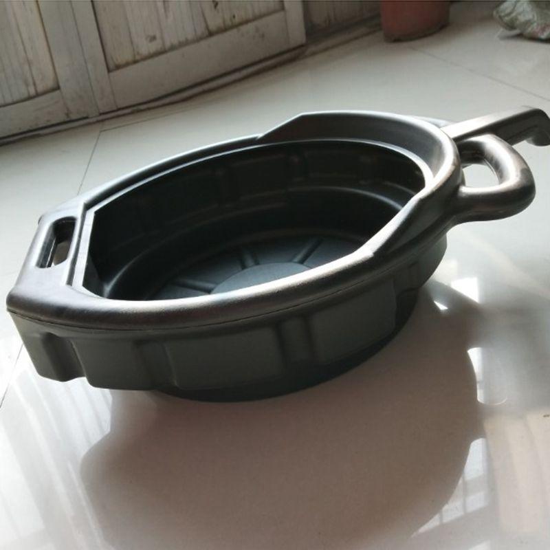 7.5l bandeja de drenagem de óleo plástico