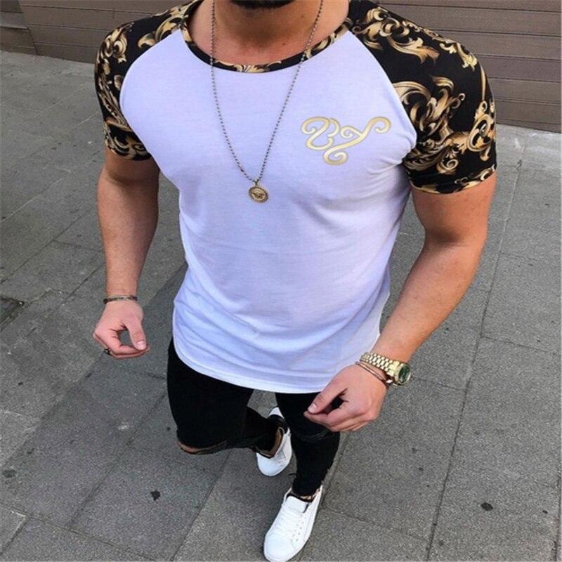 2020 Hirigin Brand футболка мужская Clothing 3 Colors O Neck Men's T Shirt Men Fashion Tshirts Fitness Casual For