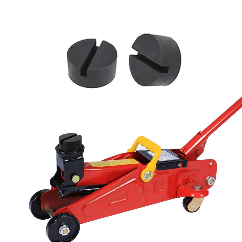 1pc Universal 4 Ton Car Jack Rubber Pad Car Jack Support Block Enhanced Type Auto Jack Rubber Pad Car Repair Tools