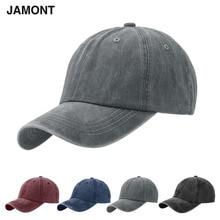 Good Quality Baseball Caps Unisex Adjustable Hats Grey Casqu
