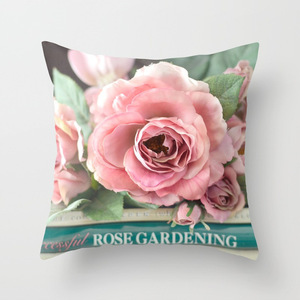 Image 5 - Funda de almohada American Dream Country Roses para silla, sofá o coche regalo de San Valentín carta de amor fundas decorativas para cojines 2019