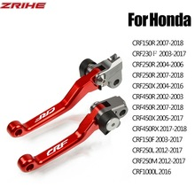 For Honda CRF150R CRF230F CRF250R/X/L/M CRF450R/X/RX CRF1000L Motorcycles Brake Clutch Levers CRF 150 230 250 450 1000 R X F RX