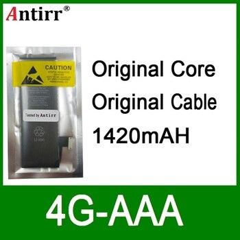 10pcs/lot Real Capacity China Protection board 1420mAh 3.7V Battery for iPhone 4G zero cycle replacement repair parts 4G-AAA