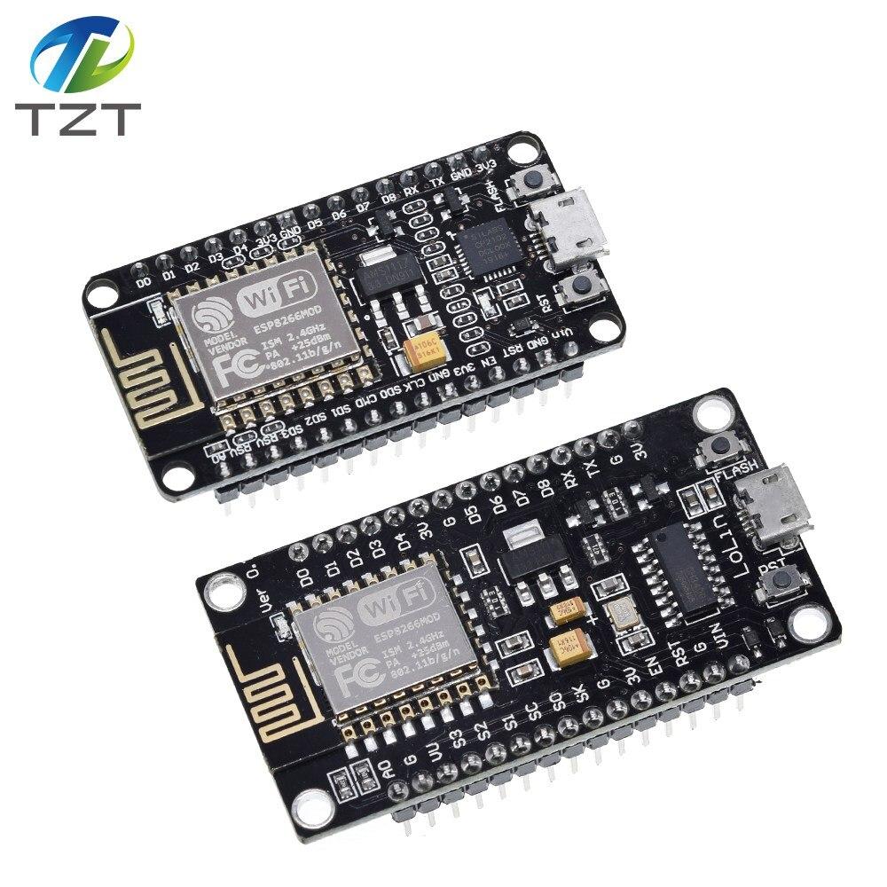 Беспроводной модуль CP2102/ CH340 NodeMcu V3 V2 Lua WI-FI Интернет вещей Совет по развитию на основе ESP8266 ESP-12F с антенна pcb