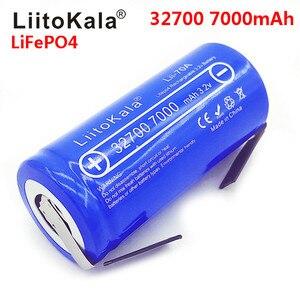 Image 2 - LiitoKala 3.2V 32700 7000MAh 6500MAh LiFePO4แบตเตอรี่35Aต่อเนื่องสูงสุด55A High Powerแบตเตอรี่ + นิกเกิลแผ่น